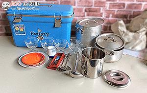 届いたお鍋やフライパン、その他調理器具などのキッチン用品、スプーン・フォーク・ナイフなどカトラリー類 2