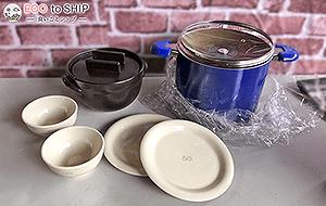 届いたお鍋やフライパン、その他調理器具などのキッチン用品、スプーン・フォーク・ナイフなどカトラリー類 4
