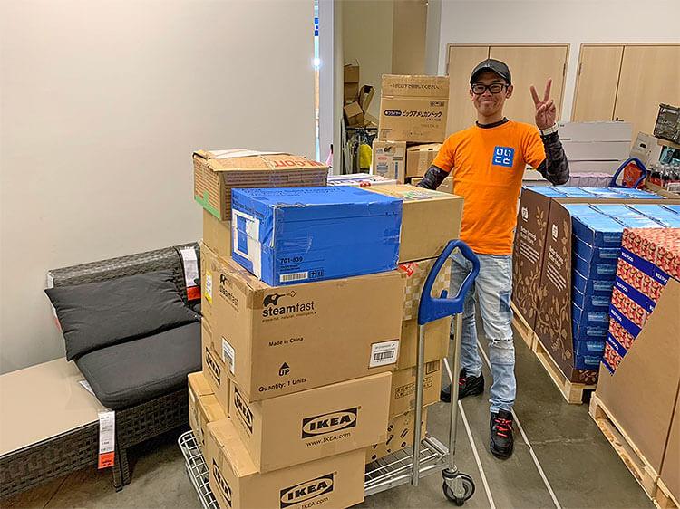 IKEA(イケア) Tokyo-Bay店様へ食器類を回収しに行きました♪
